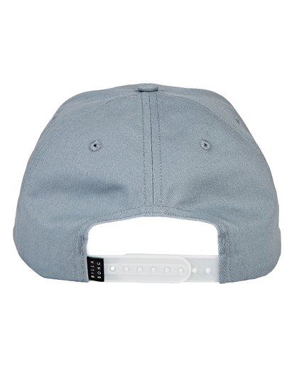 3 All Day Snapback Hat Blue MAHWVBAS Billabong