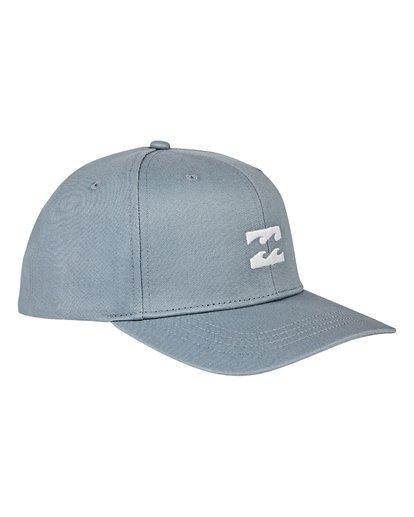 2 All Day Snapback Hat Blue MAHWVBAS Billabong
