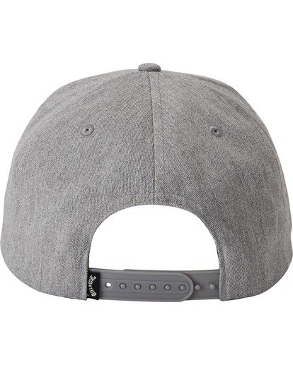 3 All Day Snapback Grey MAHWVBAS Billabong