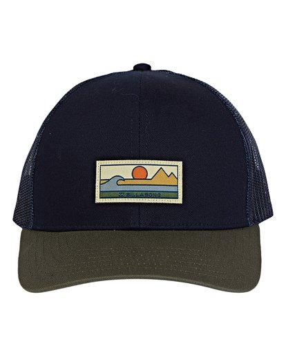 1 Walled Adiv Trucker Hat Blue MAHWVBAV Billabong