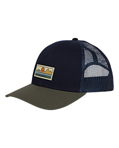 0 Walled Adiv Trucker Hat Blue MAHWVBAV Billabong