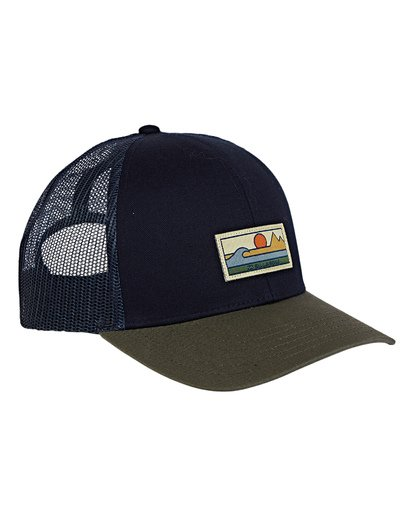 2 Walled Adiv Trucker Hat Blue MAHWVBAV Billabong