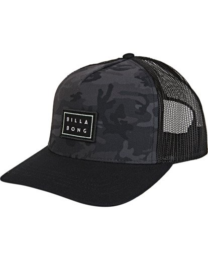 1 Beachcomber Trucker Hat Black MAHWVBBC Billabong