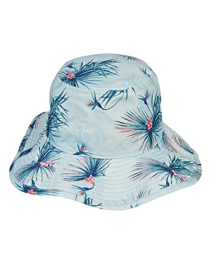 3 Big John Print Safari Hat Blue MAHWVBBP Billabong