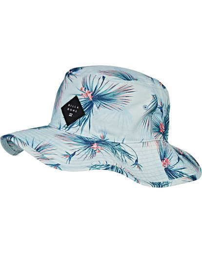 4 Big John Print Safari Hat Blue MAHWVBBP Billabong