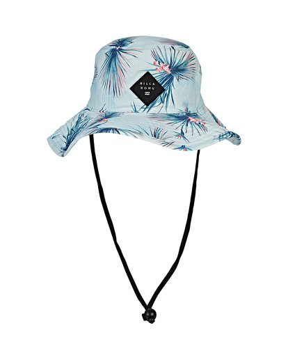 1 Big John Print Safari Hat Blue MAHWVBBP Billabong