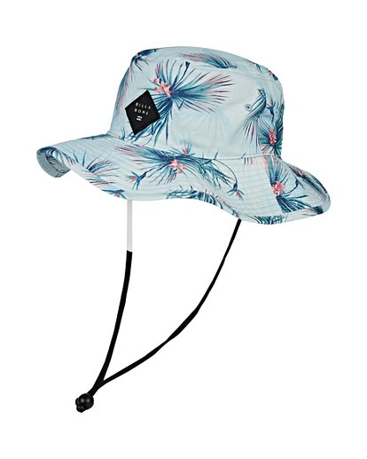 0 Big John Print Safari Hat Blue MAHWVBBP Billabong