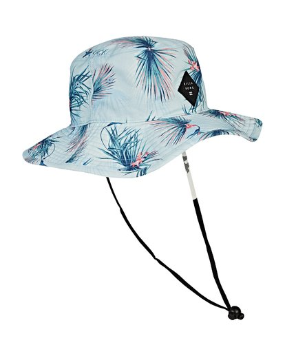 2 Big John Print Safari Hat Blue MAHWVBBP Billabong