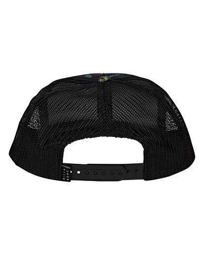 3 Eighty Six Trucker Hat Black MAHWVBES Billabong