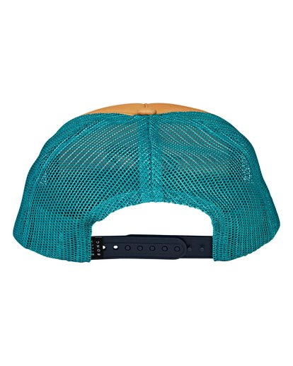 3 Eighty Six Trucker Hat Blue MAHWVBES Billabong