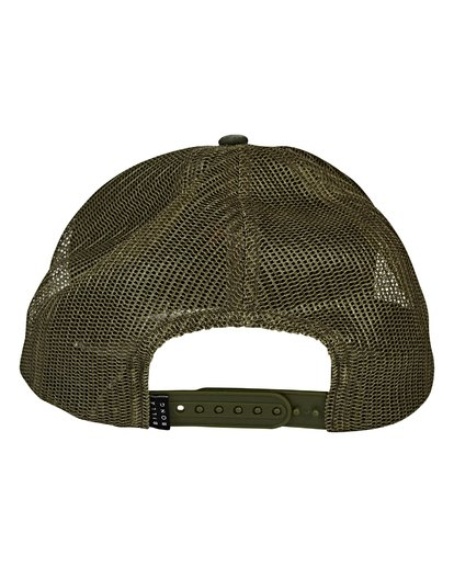 3 Fauna Trucker Hat Green MAHWVBFA Billabong
