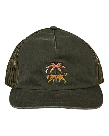 1 Fauna Trucker Hat Green MAHWVBFA Billabong