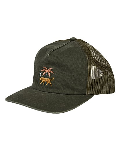 0 Fauna Trucker Hat Green MAHWVBFA Billabong