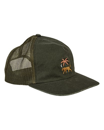 2 Fauna Trucker Hat Green MAHWVBFA Billabong