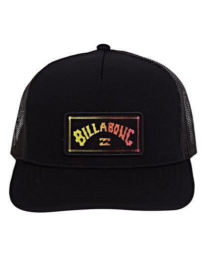 1 Flatwall Trucker Hat Black MAHWVBFW Billabong
