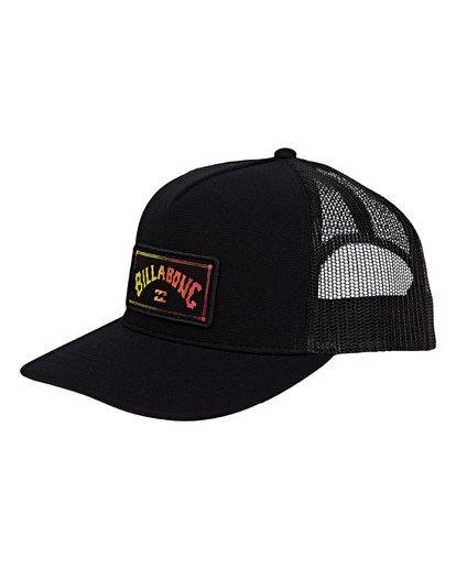 0 Flatwall Trucker Hat Black MAHWVBFW Billabong