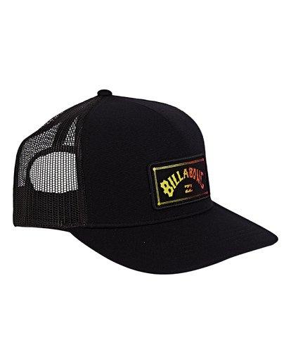 2 Flatwall Trucker Hat Black MAHWVBFW Billabong