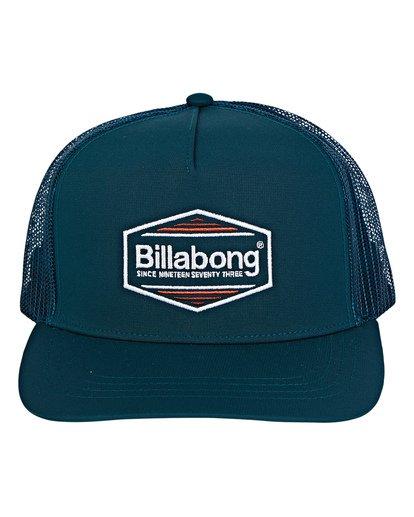 1 Flatwall Trucker Hat Green MAHWVBFW Billabong