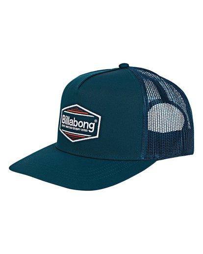 0 Flatwall Trucker Hat Green MAHWVBFW Billabong
