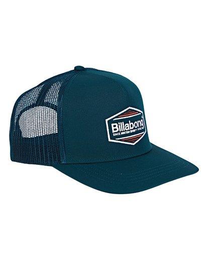 2 Flatwall Trucker Hat Green MAHWVBFW Billabong