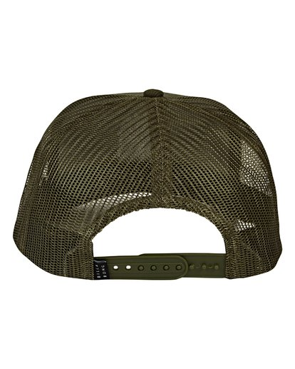 3 Flatwall Trucker Hat Green MAHWVBFW Billabong