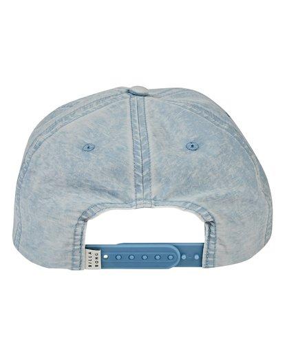 3 Lock Down Hat Blue MAHWVBLO Billabong