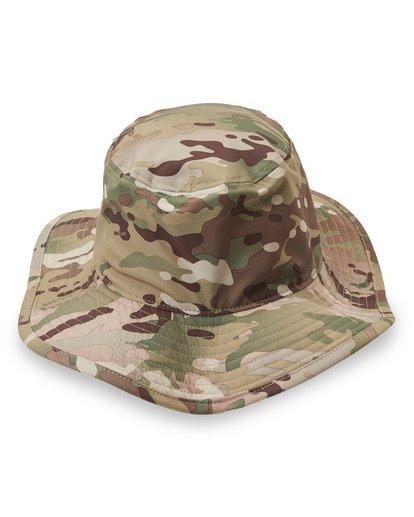 3 Multicam Big John Safari Hat Black MAHWVBMB Billabong