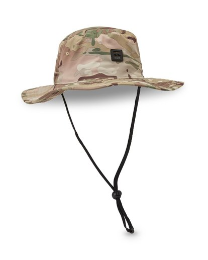 2 Multicam Big John Safari Hat Camo MAHWVBMB Billabong