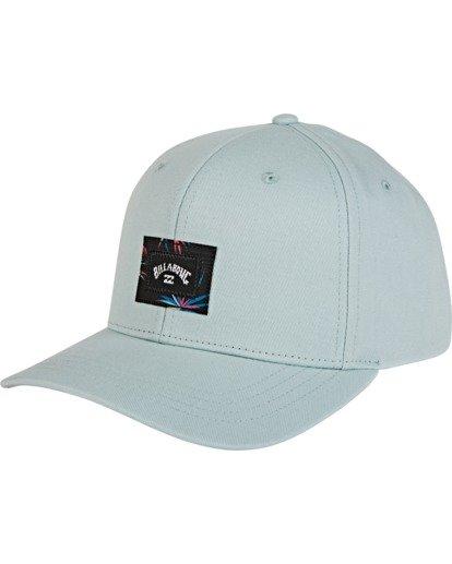 1 Plateau Snapback Hat Blue MAHWVBPL Billabong