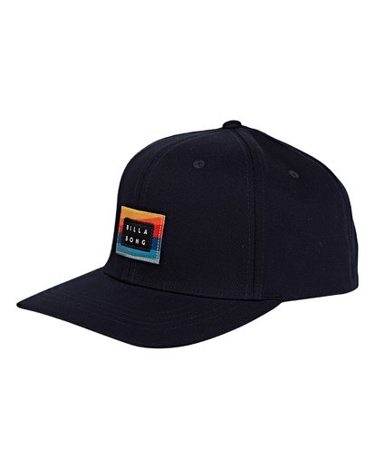 0 Plateau Snapback Hat Blue MAHWVBPL Billabong