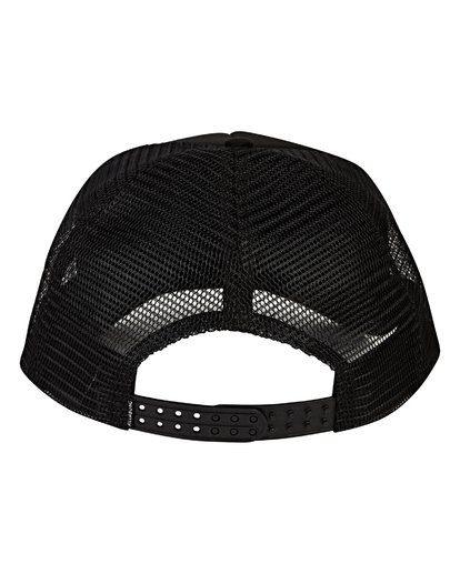 3 Podium Trucker Hat Black MAHWVBPO Billabong