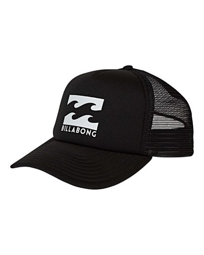 0 Podium Trucker Hat Black MAHWVBPO Billabong