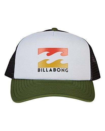 1 Podium Trucker Hat Green MAHWVBPO Billabong
