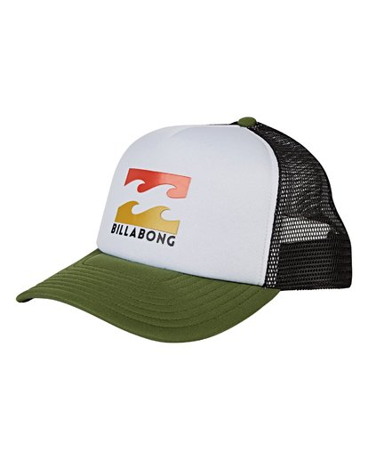 0 Podium Trucker Hat Green MAHWVBPO Billabong