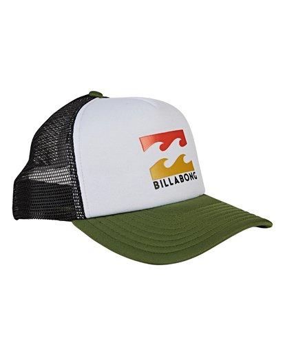 2 Podium Trucker Hat Green MAHWVBPO Billabong