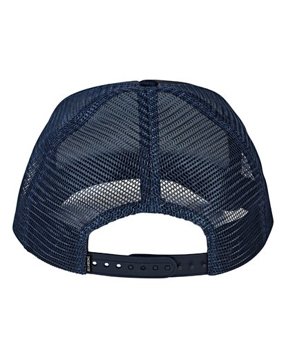 3 Podium Trucker Hat Blue MAHWVBPO Billabong