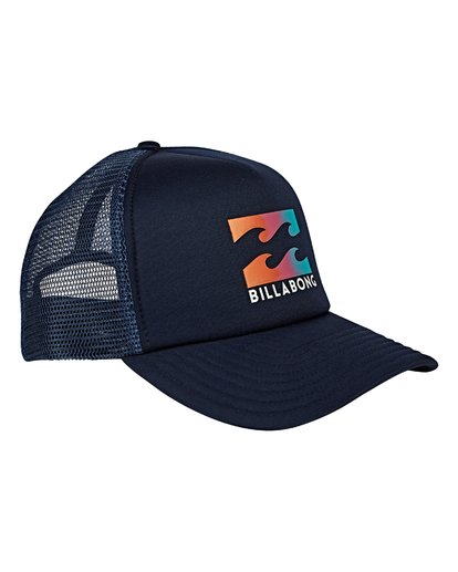 2 Podium Trucker Hat Blue MAHWVBPO Billabong