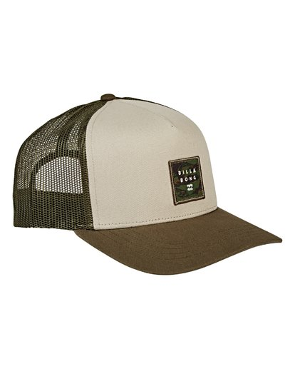 2 Stacked Trucker Hat  MAHWVBST Billabong