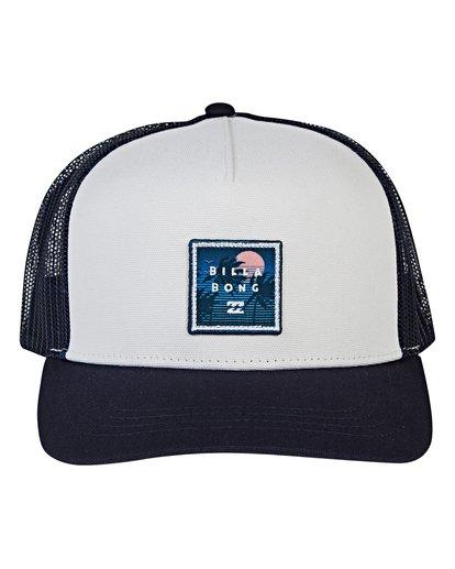 1 Stacked Trucker Hat Blue MAHWVBST Billabong