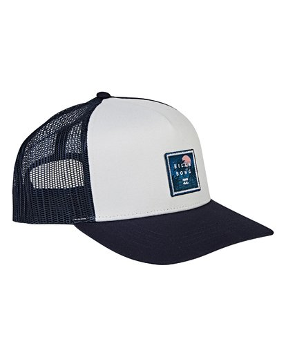 2 Stacked Trucker Hat Blue MAHWVBST Billabong