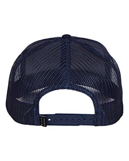 3 Stacked Trucker Hat Blue MAHWVBST Billabong