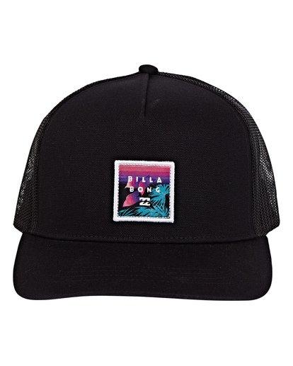 1 Stacked Trucker Hat Grey MAHWVBST Billabong