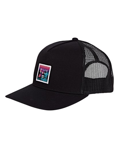 0 Stacked Trucker Hat Multicolor MAHWVBST Billabong