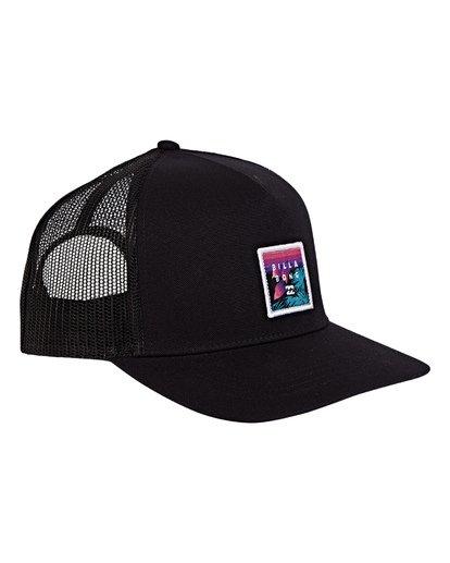 2 Stacked Trucker Hat Grey MAHWVBST Billabong