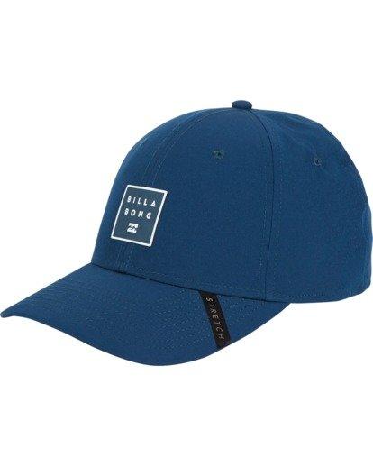 1 Tech Stretch Hat Blue MAHWVBTE Billabong