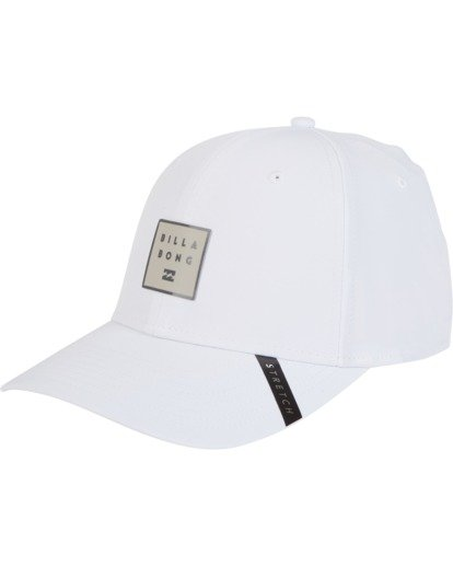 1 Tech Stretch Hat White MAHWVBTE Billabong
