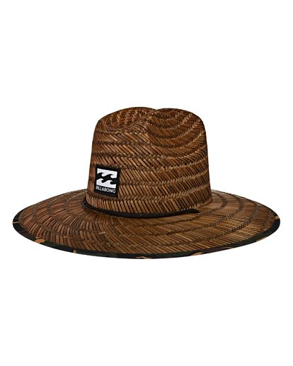 0 Tides Print Lifeguard Straw Hat  MAHWVBTP Billabong