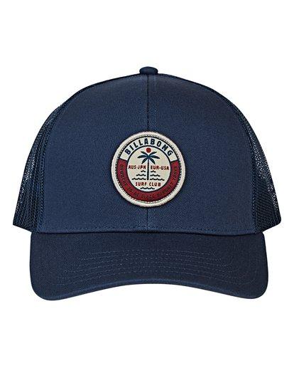 1 Walled Trucker Hat Blue MAHWVBWA Billabong