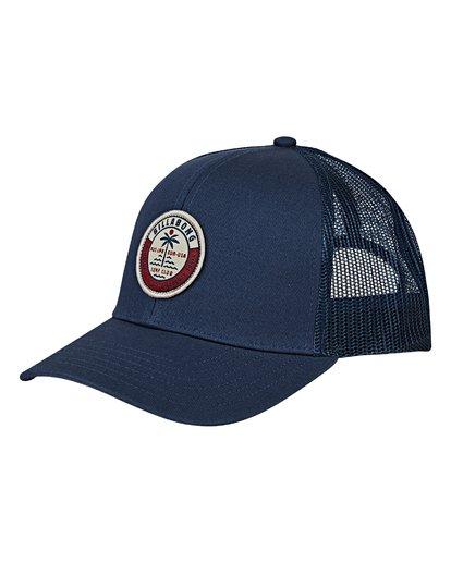 0 Walled Trucker Hat Blue MAHWVBWA Billabong