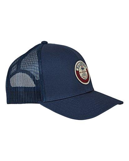 2 Walled Trucker Hat Blue MAHWVBWA Billabong